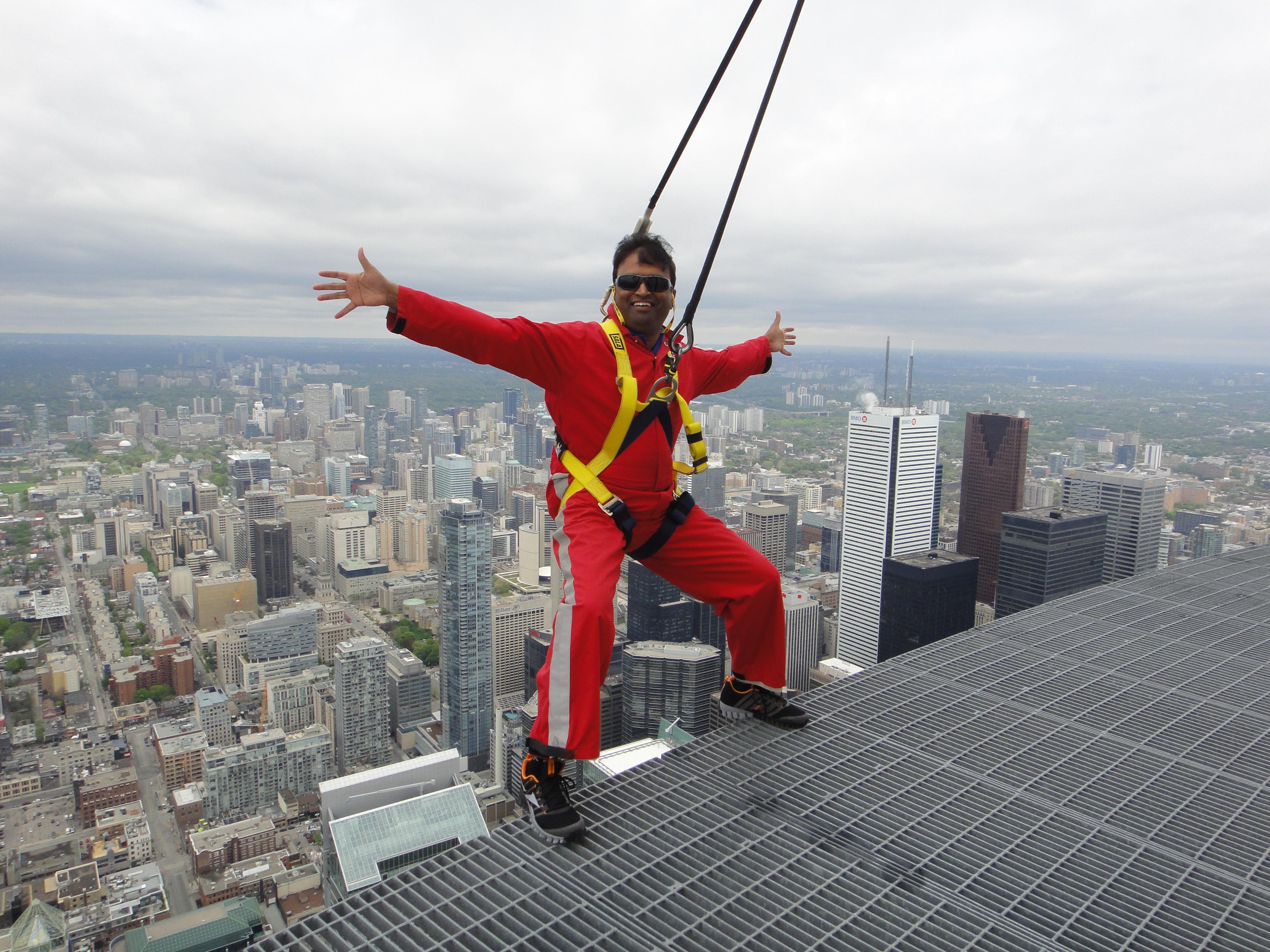 Edgewalk @ CN Tower, Toronto - Summer of 2013