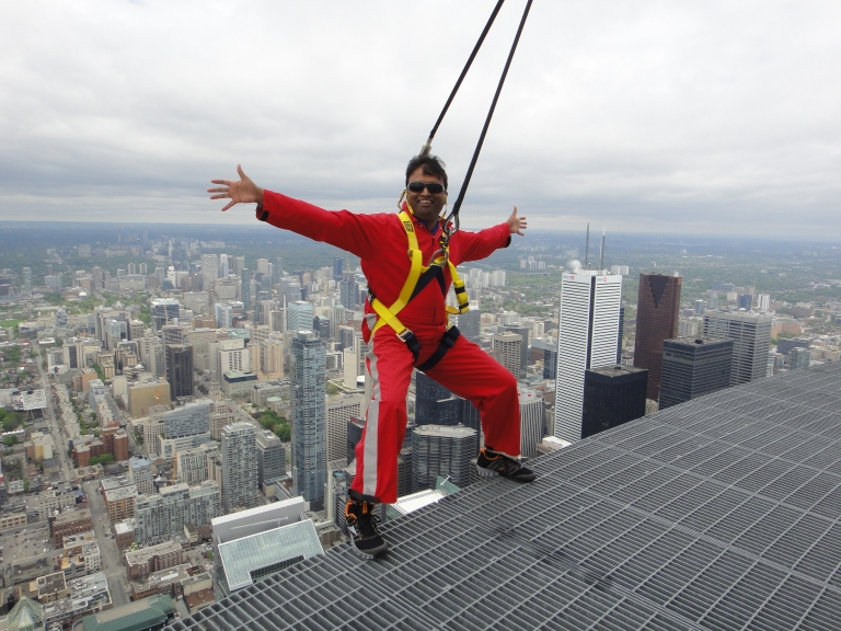 Edgewalk @ CN Tower, Toronto - Summer of 2013