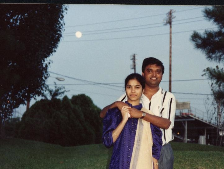 Radhika's first visit to Lamar