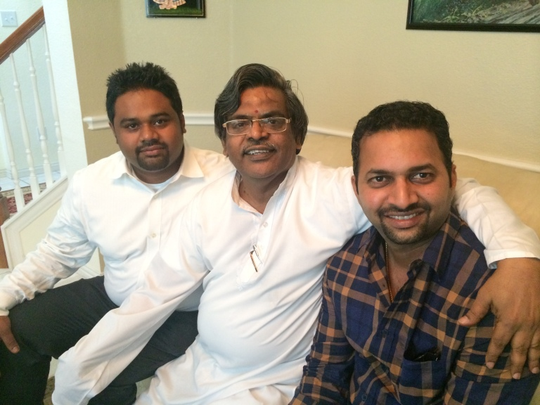 With Prasanna and Ravi