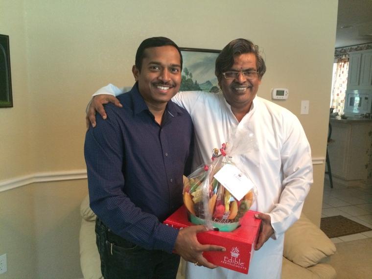 With Raj Neravati