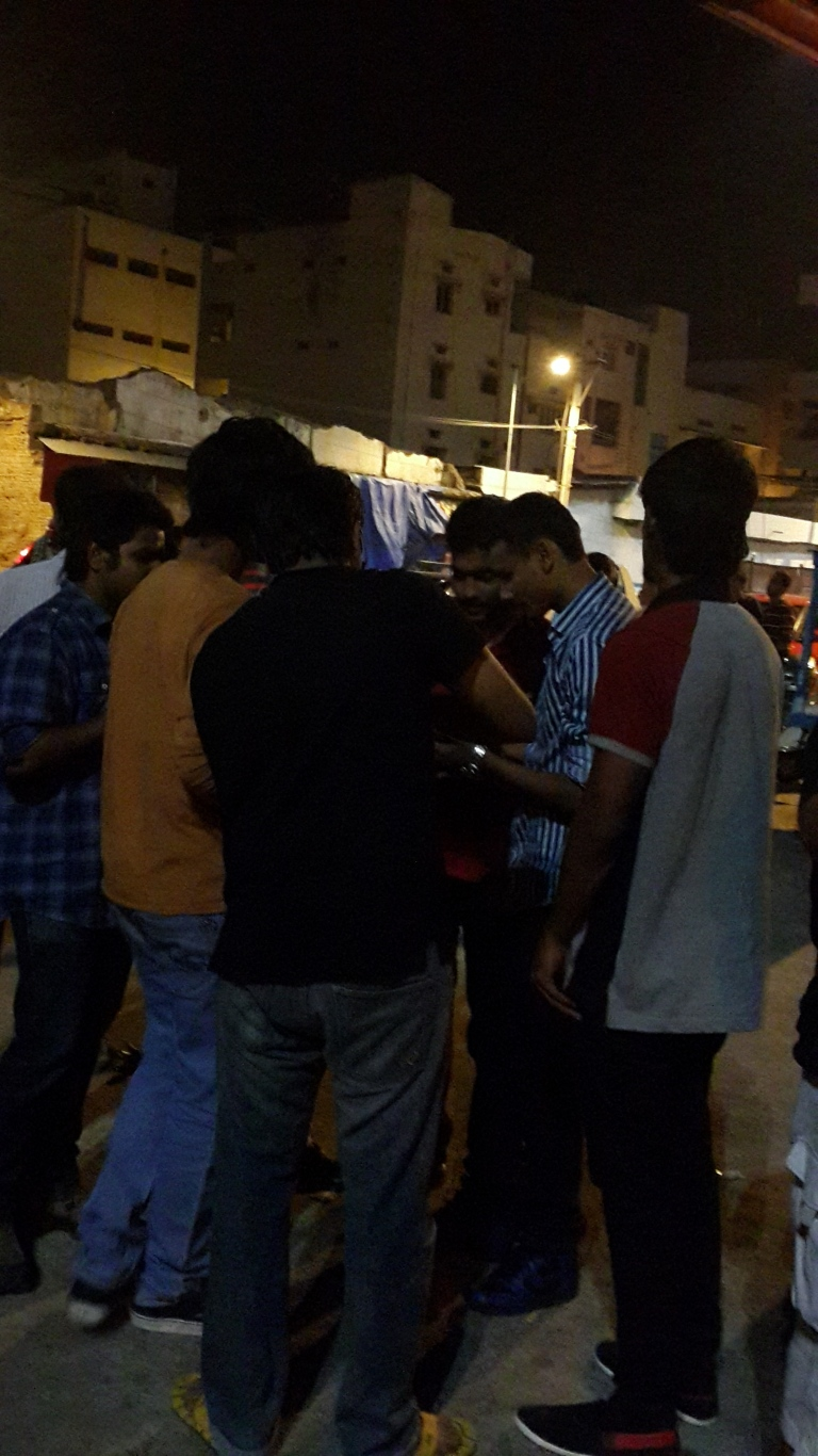 First set of folks who got Dosa at 3:10AM