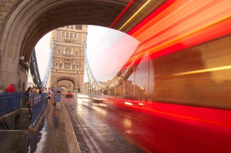 Light Trails in London