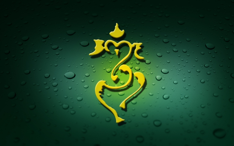 ganesh_pleasent_green_god_abstract_hd-wallpaper-1167289