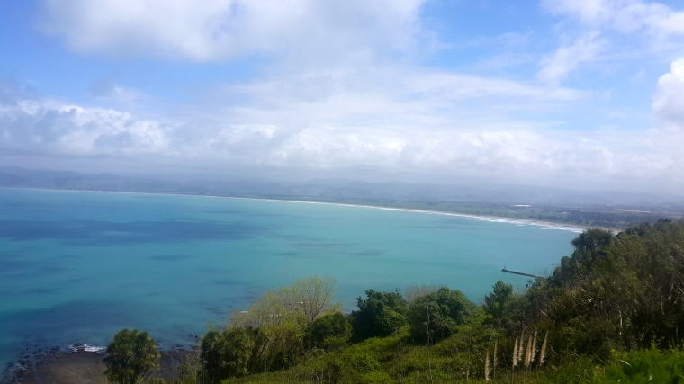 View from the Kaiti hills