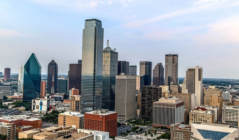 Dallas Skyline view from the tower