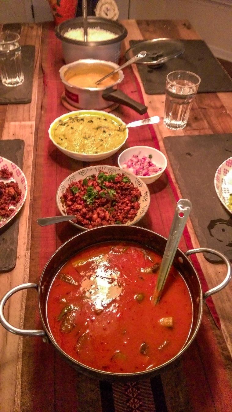 Farewell Dinner by Divya