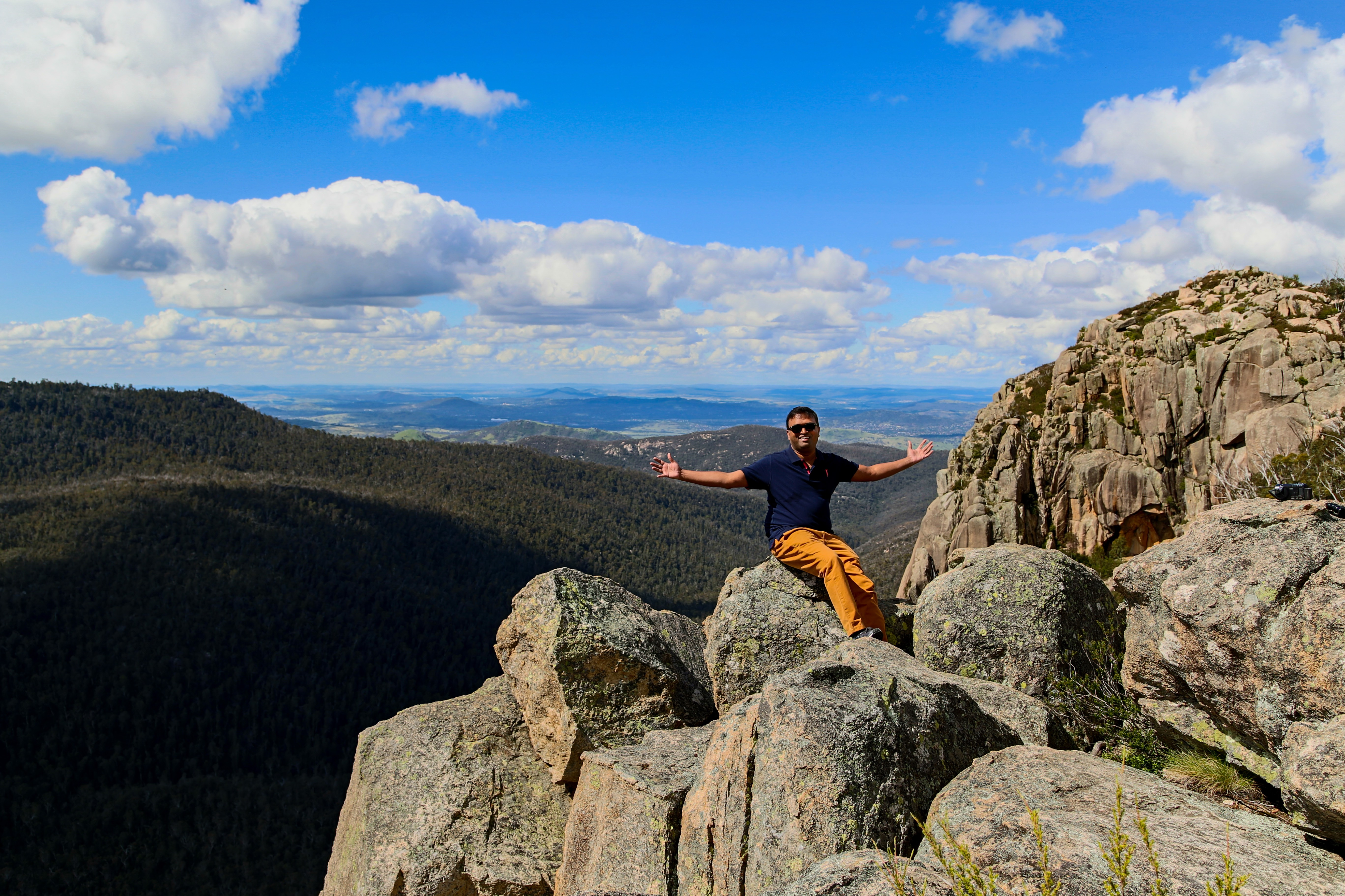 Not really on top of the world :-)