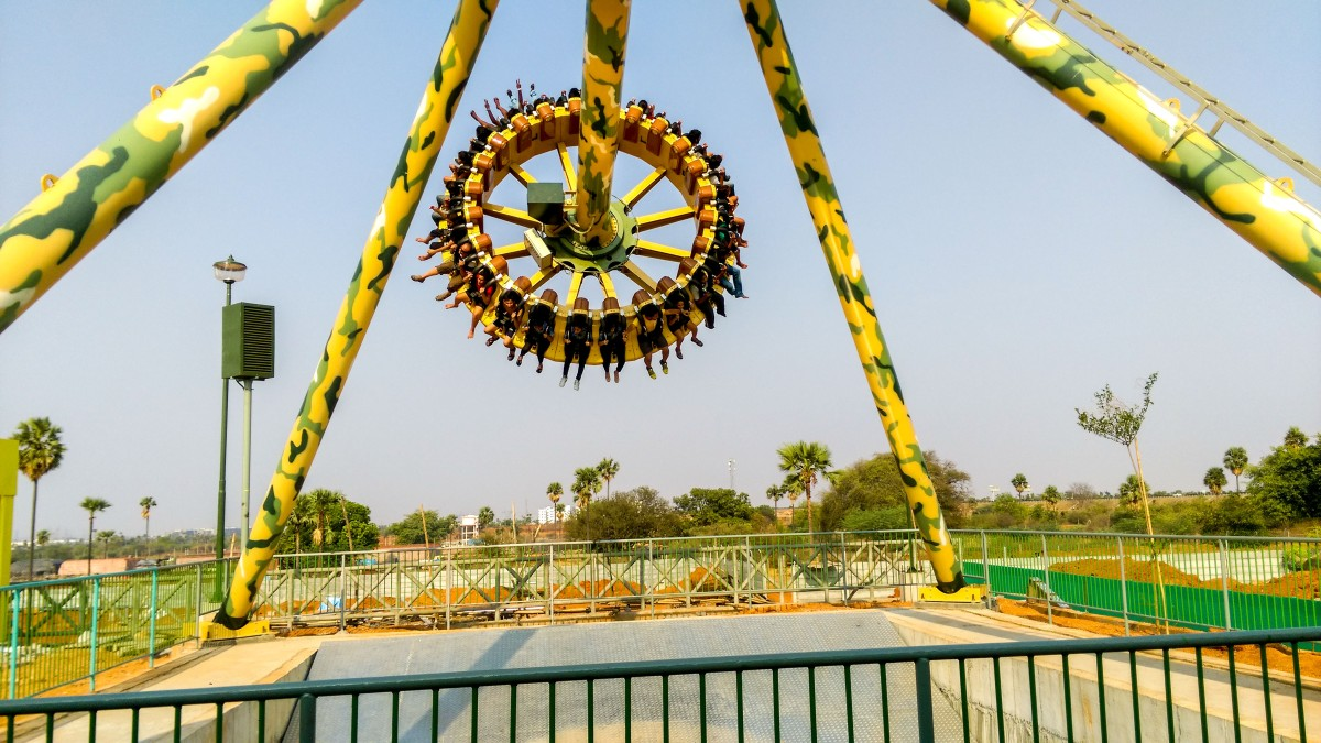 Wander around WonderLa, HYD