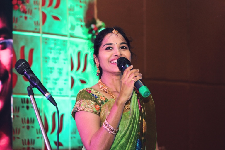 radhika-on-stage