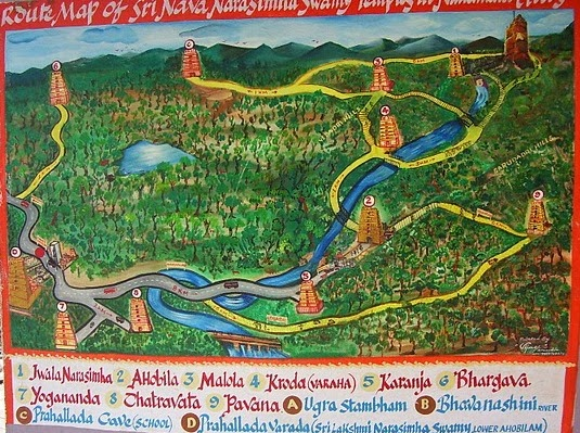 ahobilam-map