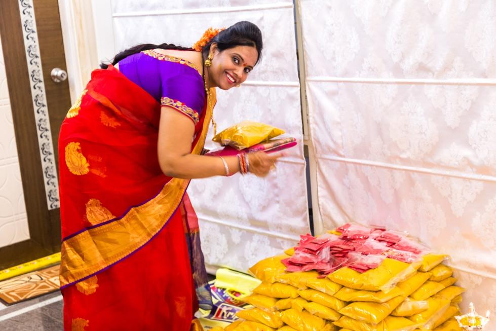 Sharada - Hostess for the event