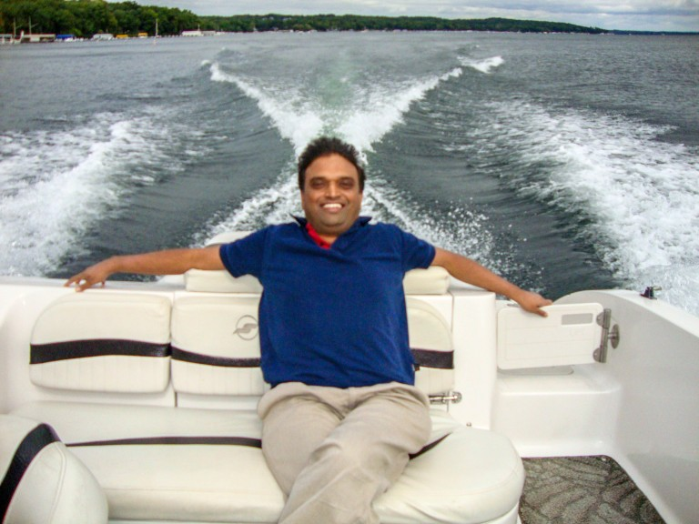 Sai on Lake Geneva