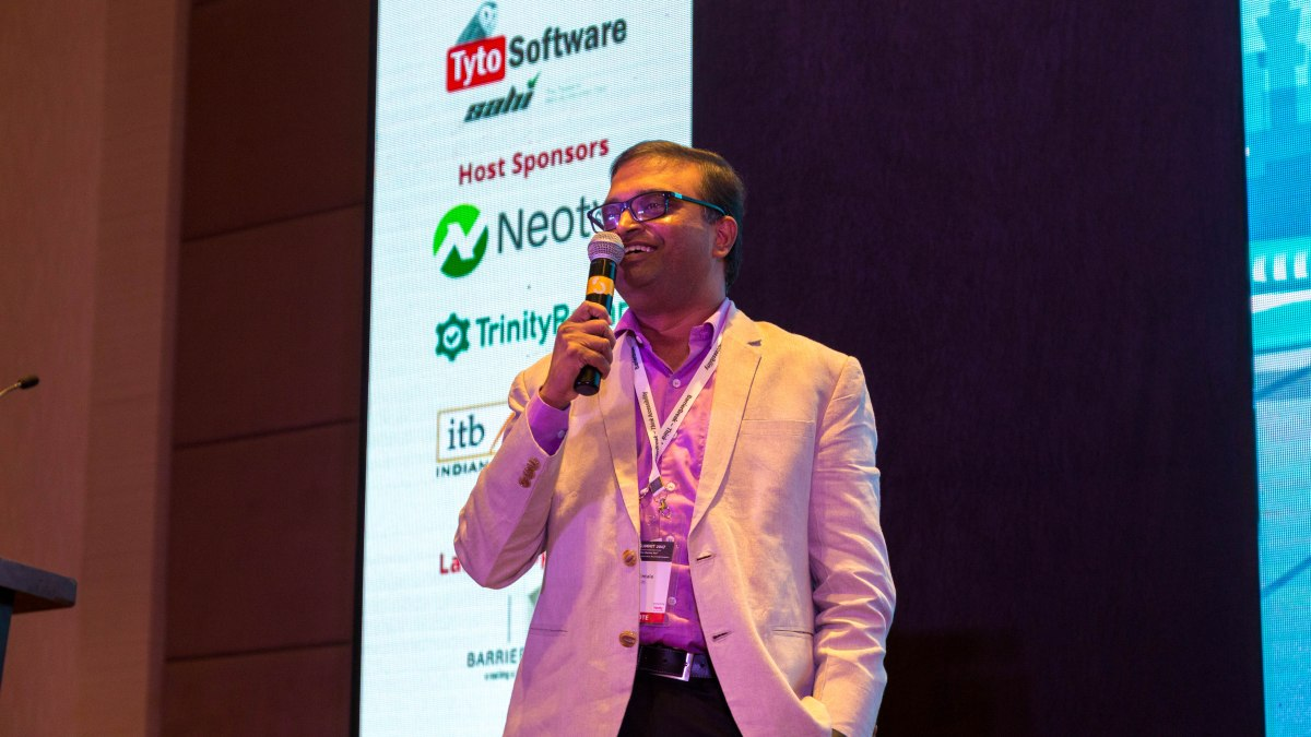 Speaking at Testing Conference in Bengaluru